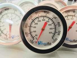 Termometro para horno (empotrar) hasta 500 hrados