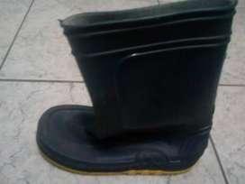 Botas de goma para lluvia niño