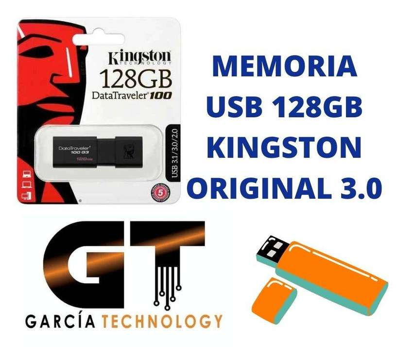MEMORIA USB 128GB KINGSTON ORIGINAL 3.0