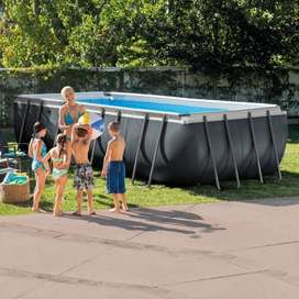 PISCINA INTEX RECTANGULAR ULTRA XTR FRAME 5,49X2,74X1,32