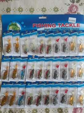 Señuelo de Pesca X Unidad Anzuelo 5 Cm