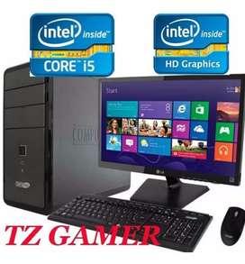 Oferta computadores hp intel intel core i5 con monitor 19 garantía