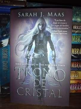 """Libro """"Trono de Cristal"""" nuevo"""