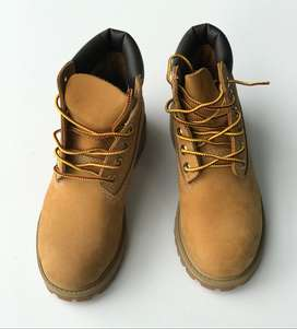 Botas TIMBERLAND KIDS 12709 Yellow Boots Leather 6IN PREM WHEAT talla 13.5 usa 30 COLOMBIA 19.5 CENTRIMETROS