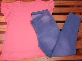 Jeans talles del 50 al 56