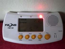 Afinador cromatico metronomo y generador de tonos digital todo en uno!