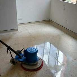Brillado de pisos y mantenimiento de pisos