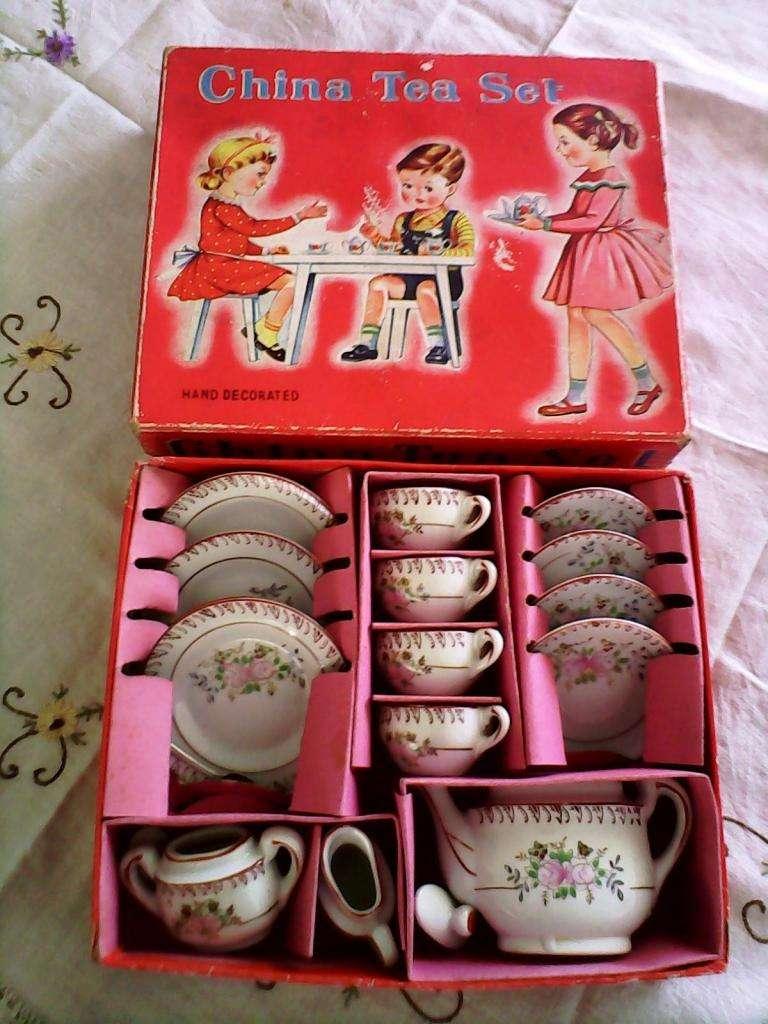 juego de te infantil de porcelana japonesa
