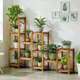 Muebles para organizar tus plantas