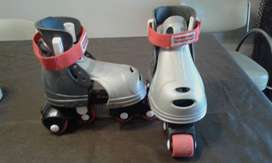 PATINES PLÁSTICOS  EXTENSIBLES FISHER-PRICE