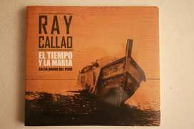 ray callao el tiempo y la marea salsa dura del perú cd sellado