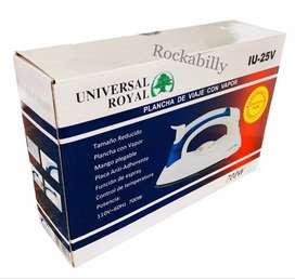 Plancha Viajera Para Ropa Antiadherente Y Plegable Universal Royal