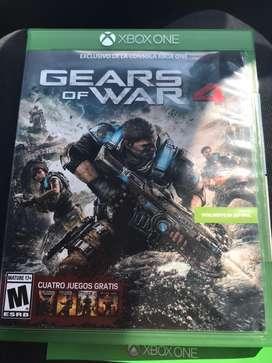 Juego Gears of war 4(Negociable)