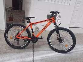 Bicicleta! Nueva  Componentes shimano