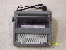 """MAQUINA de ESCRIBIR ELECTRONICA """"BROTHER"""" GX-6500"""