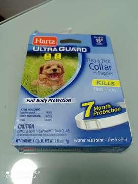 Collar antipulgas para perro mediano o pequeño