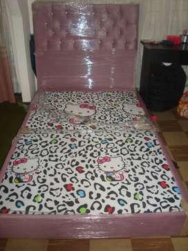 Cabezero mas base cama 1.20 NUEVOS