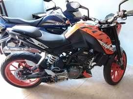 Vendo moto ktm 200 modelo 2019