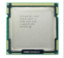 Procesador Intel Core I3 540 Primera Generacion Socket 1156
