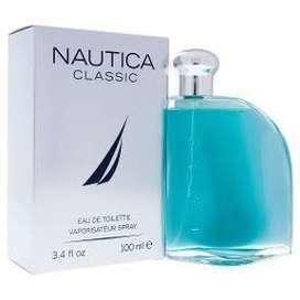 Perfume Nautica Classic de 100 ml para hombre nuevo y sellado traído de Miami con etiquetas