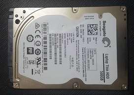 Disco Duro 500 GB Seagate para portatil PERFECTO estado NEGOCIABLE