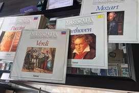 Colección de discos, música clasica