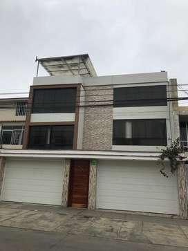 Vendo casa tres pisos  con piscina y jacuzi con ultimos acabados listo para habitar