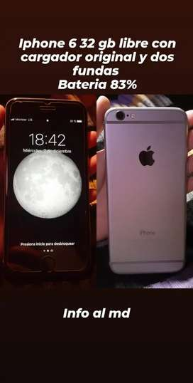 Iphone 6 32 gb libre