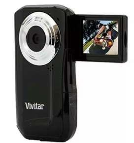 Cámara de Vídeo digital  vivitar DVR 410 color negro