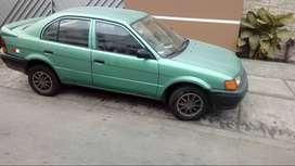 TOYOTA TERCEL 1996 GLP AROS DE MAGNESIO $ 3500