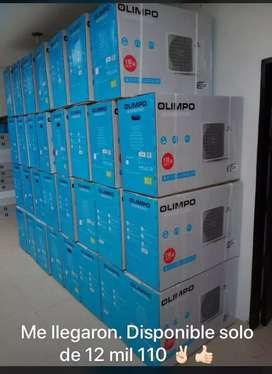 Aire Olimpo 12 y 9 mil con instalación
