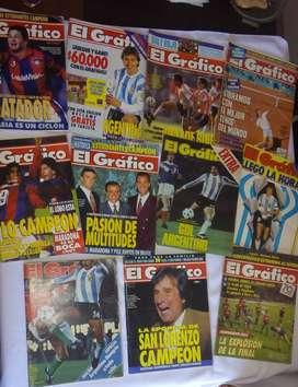 Once revistas de EL GRÁFICO para coleccionistas