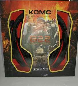Audifonos Diadema Gamer Komc