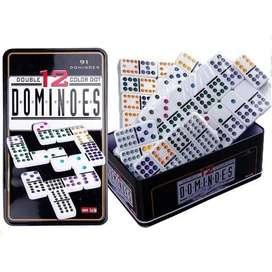 juego domino para 12 personas 91 piezas