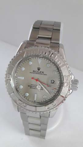 Rolex Oyster Perpetual Date Color Plata