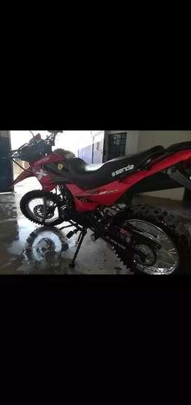 Vendo mi moto senda 200cc nueva