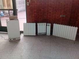 Caldera marca Baxi Eco 280 con 10 radiadores