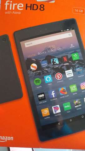 Tablet Amazon fire HD 8- 16 Gb