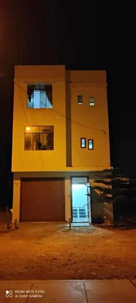 Se vende casa de 3 pisos a estrenar