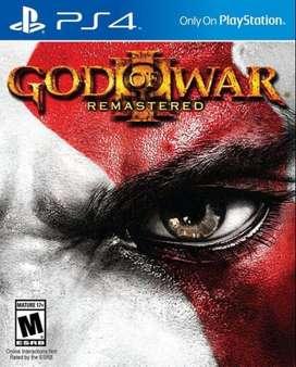 God Of War 3 Remastered Playstation 4 Ps4, Físico
