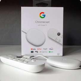 Google Chromecast 4 Google Tv