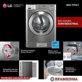 Secadoras a gas LG para negocio
