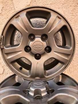 Llantas  Originales de Camionetas Chevrolet S-10 más Accesorios !!