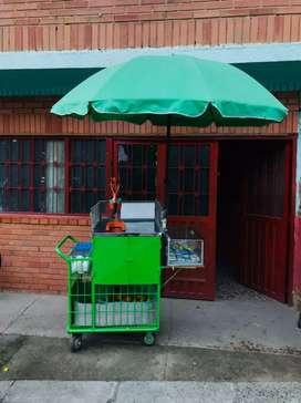 Se vende carrito de tinto y jugo de naranja