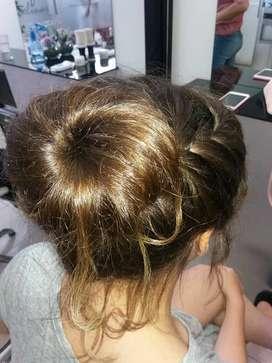 Peinados en el salon carolina´s