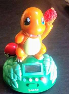 Reloj Despertador Charmander Pokemon