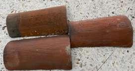 Venta de tejas de barro