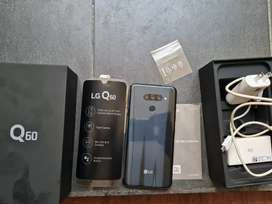 Vendo LG Q60 4 cámaras  caja y accesorios originales