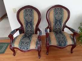 Muebles en madera usados en perfecto estado