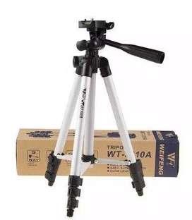 Tripode 102cm Camara Celular 3110a Fotografia Video